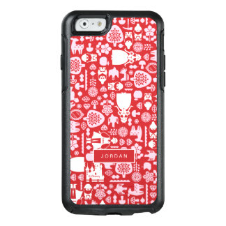 Snow White and Friends Pattern | Add Your Name OtterBox iPhone 6/6s Case