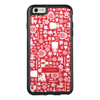 Snow White and Friends Pattern | Add Your Name OtterBox iPhone 6/6s Plus Case