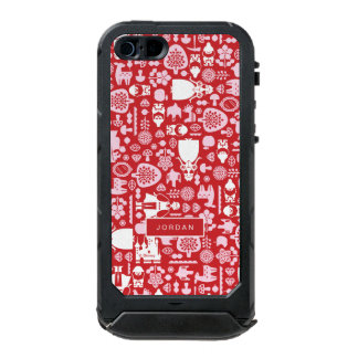 Snow White and Friends Pattern | Add Your Name Waterproof iPhone SE/5/5s Case