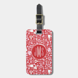 Snow White and Friends Pattern Luggage Tag