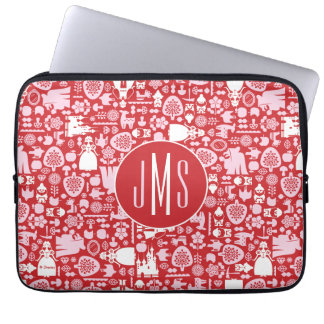 Snow White and Friends Pattern | Monogram Computer Sleeve