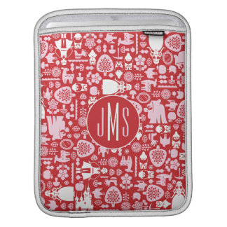 Snow White and Friends Pattern | Monogram Sleeve For iPads