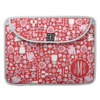 Snow White and Friends Pattern | Monogram Sleeve For MacBook Pro