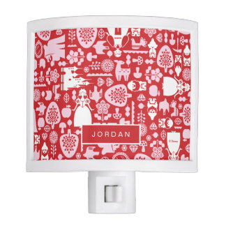 Snow White and Friends Pattern Night Light