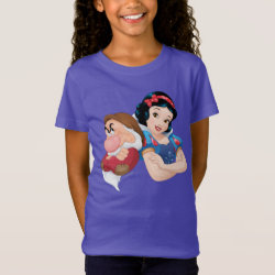 Girls' Fine Jersey T-Shirt with Disney: I Love California design