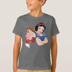 Kids' Hanes TAGLESS® T-Shirt with Cute Cartoon Disgust from Inside Out design