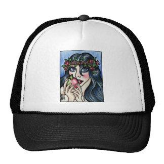 Snow white and her Apple. Fairytale fantasy art Trucker Hat