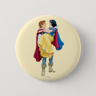 Snow White and Prince Charming Button