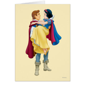Snow White and Prince Charming Card