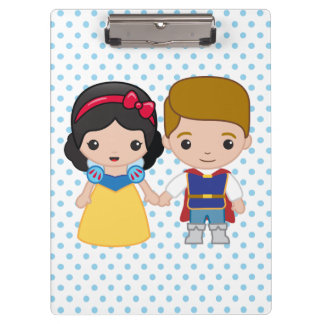 Snow White and Prince Charming Emoji Clipboard