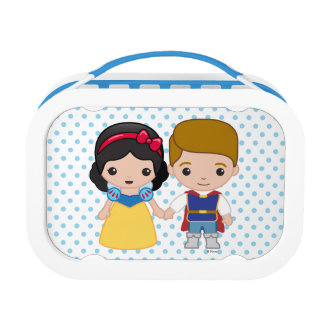 Snow White and Prince Charming Emoji Lunch Box