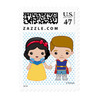 Snow White and Prince Charming Emoji Postage