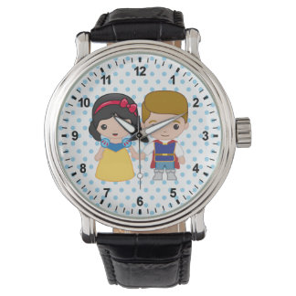 Snow White and Prince Charming Emoji Wrist Watch