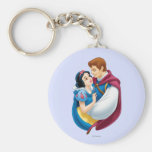 Snow White and Prince Charming Hugging Key Chain