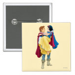 Snow White and Prince Charming Pinback Buttons