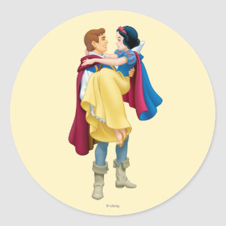 Snow White and Prince Charming Stickers