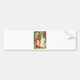 Snow White And Rose Red Bumper Sticker