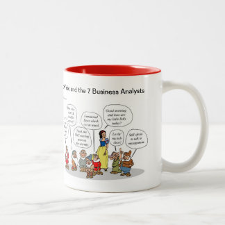 Snow White and the 7 Business Analysts Mug