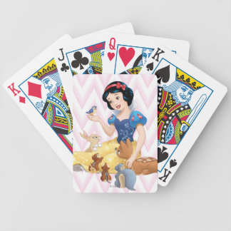 Snow White and the Forest Animals Bicycle Playing Cards