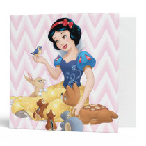 Snow White and the Forest Animals Binder