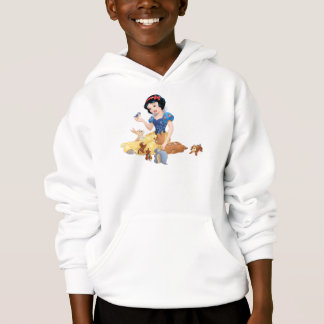 Snow White and the Forest Animals Hoodie