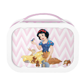 Snow White and the Forest Animals Lunch Box
