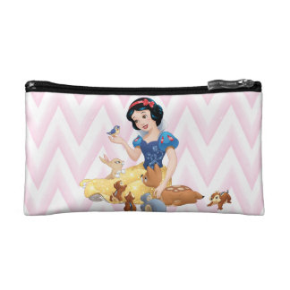 Snow White and the Forest Animals Makeup Bag