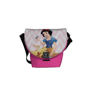 Snow White and the Forest Animals Messenger Bag