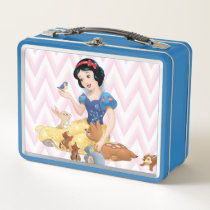 Snow White and the Forest Animals Metal Lunch Box