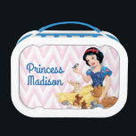 """Snow White and the Forest Animals - Personalized Lunch Box<br><div class=""""desc"""">Princess</div>"""