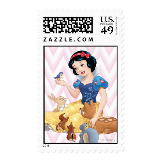 Snow White and the Forest Animals Postage