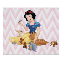 Snow White and the Forest Animals Poster