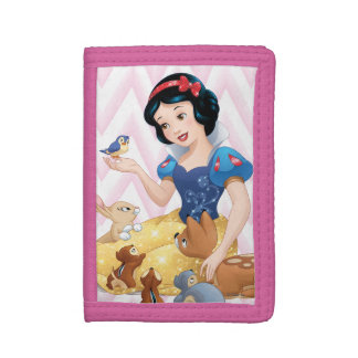 Snow White and the Forest Animals Trifold Wallet