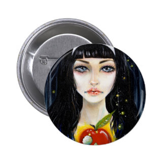 Snow White and the Poison Apple badge Pinback Button