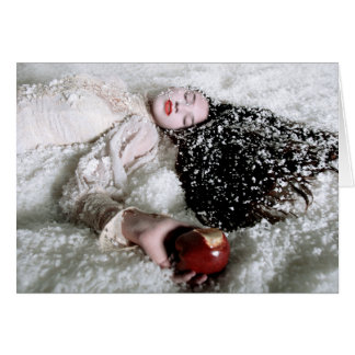 """""""Snow White and the Poison Apple"""" greeting card"""