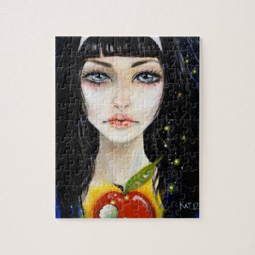 Snow White and the Poison Apple Jigsaw Puzzle
