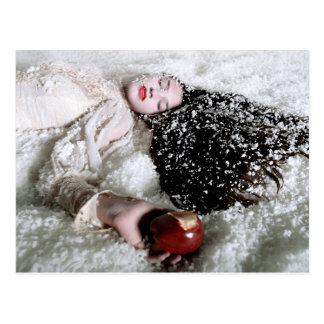 """""""Snow White and the Poison Apple"""" postcard by CH"""