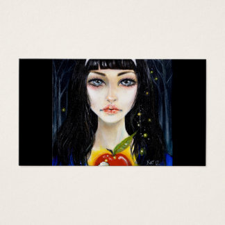 Snow White and the Poisoned Apple - business card