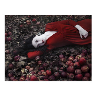 Snow White and The Poisoned Apple Postcard