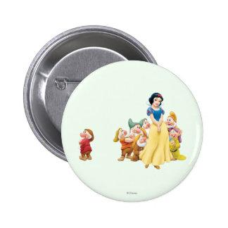 Snow White and the Seven Dwarfs 1 Button