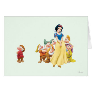 Snow White and the Seven Dwarfs 1 Greeting Card