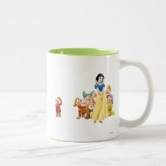 Snow White and the Seven Dwarfs 1 Two-Tone Coffee Mug