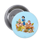 Snow White and the Seven Dwarfs 2 Button