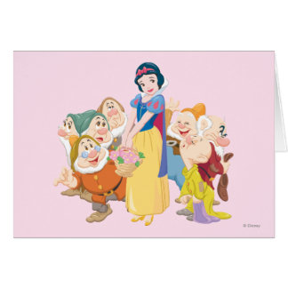 Snow White and the Seven Dwarfs 3 Greeting Card