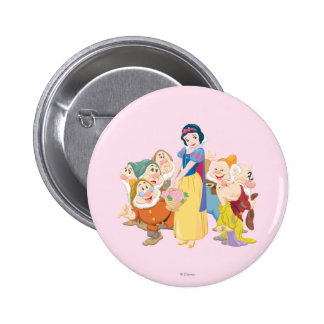 Snow White and the Seven Dwarfs 3 Pinback Button
