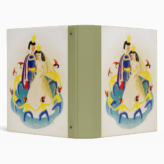 Snow White and the seven dwarfs 3 Ring Binder