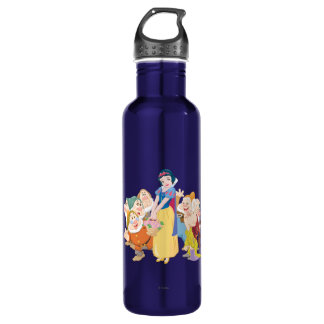Snow White and the Seven Dwarfs 3 Stainless Steel Water Bottle