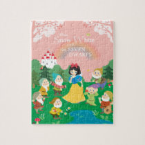 Snow White and the Seven Dwarfs Cartoon Jigsaw Puzzle