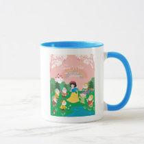 Snow White and the Seven Dwarfs Cartoon Mug