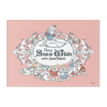 Snow White and the Seven Dwarfs | Fairest of All Acrylic Wall Art